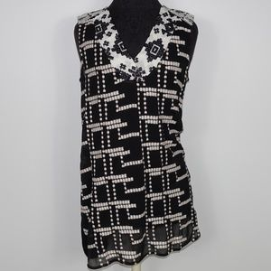 Anthropologie Tiny Chaparral Tunic Top Blouse